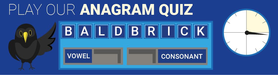 Anagram Quiz