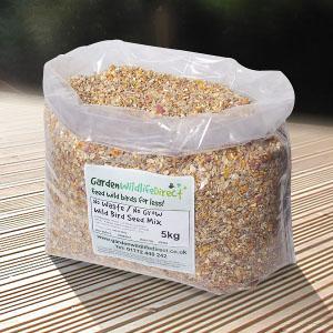 No waste, no grow seed mix