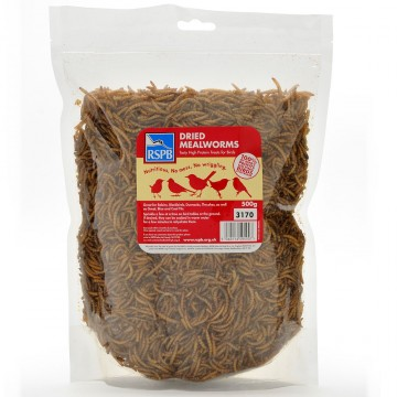 RSPB Mealworms - 500g